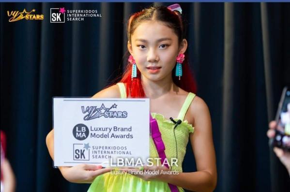 [LBMA 컷] 이샤넬 키즈모델,SUPERKIDDOS SEARCH 국제대회... 모델대회 3위 수상